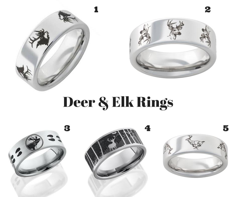 Deer & Elk Rings