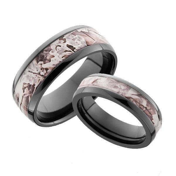 snow camo rings for men and women camokix
