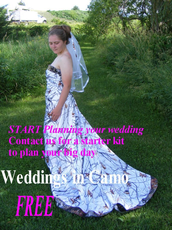 wedding dresses with green trim in canada
