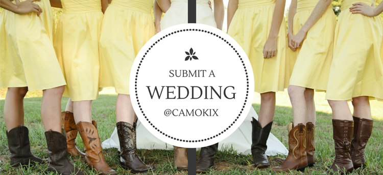 feature a wedding story on Camokix