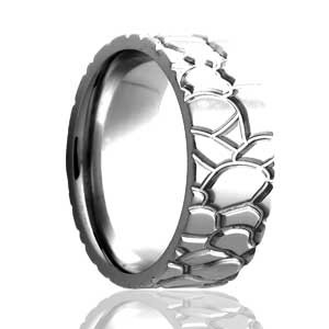 Milled Tire Tread Flat Profile Ring