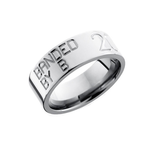 8mm Duck Band Ring