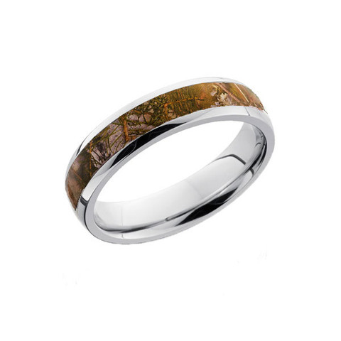 Women's Thin Camo Ring 5mm