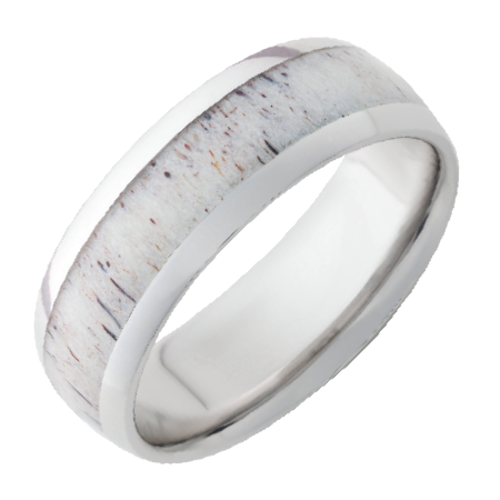 real antler vitalium ring