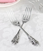 I Do & Me Too Silver Forks