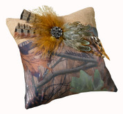 Camo Ring Bearer Pillow