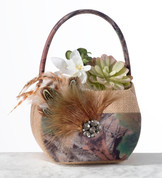 Camo Basket for Flower Girl