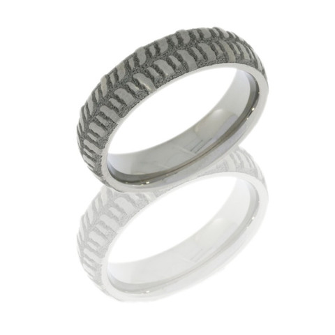 5mm domed sand-polished bogger ring