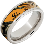 8mm Serinium™ Pipe Cut Band with Mossy Oak® Blaze