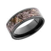 8mm Flat Edge Ring 6mm Camo