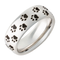 Serinium Domed Cougar Tracks Ring