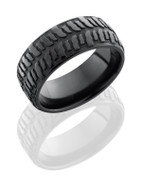 9mm Black Zirconium Bogger Tire Ring