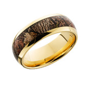 14K Gold Camo Ring