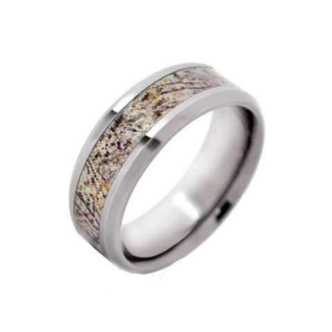Mossy Oak Beveled Camo Ring