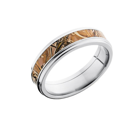 King's Field Camo Grooved Edge Ring