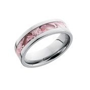 3mm King's Pink Shadow Camo Titanium Band