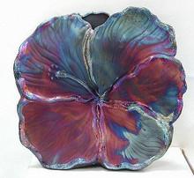 009 - Large Hibiscus Vase