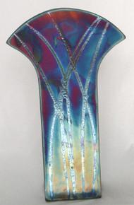 047 - Flat Nouveau Vase