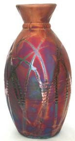 132 - Potters Banded Vase