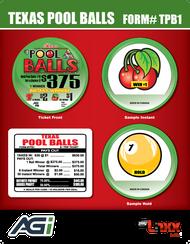 TPB1 Texas Pool Balls