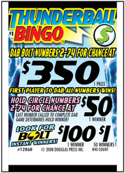 Thunderball Bingo 12868