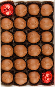"Cherry Cordials  The best Cherry Cordial in the world.  We work hard to keep up with the high demand for these world famous, ""like-no-other"" large, home-fashioned cherry cordials. We use only the premium Grade A cherries in our Cherry Cordials. Everyone is individually inspected to meet our high standards. The cherry is coated with our secret recipe and then smothered in a rich coat of milk or dark chocolate, the best in the world. Signed with love, all of our cherries are hand marked with a C on top. The 1lb. box contains approx. 22 Cherry Cordials.  Mrs. Cavanaugh's Cherry Cordial assorted box is available in milk chocolate, dark chocolate, or a mix of the two chocolates in 1lb. 2 lb. 3 lb. & 5 lb. boxes."