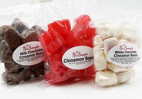 Cinnamon Bears Chocolate Covered Cinnamon Bears