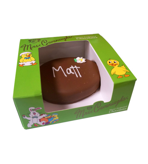 Personalized Chocolate Easter Egg