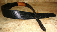 Genuine ALLIGATOR SKIN Custom Guitar Strap - HANDCRAFTED in the USA.