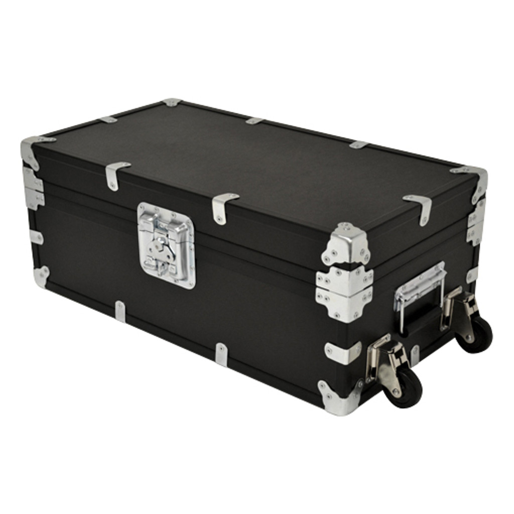 """Large Indestructo Travel Trunk - 32"""" x 17"""" x 13"""" - Angled View"""