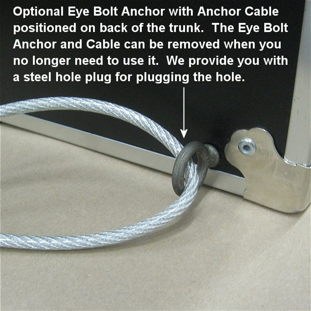 Trunk Anchoring Cable System - Installed