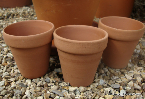Terracotta Plain Pot - 9cm