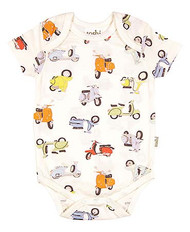 Onesie Short Sleeve Scooter