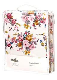 Cot Sheet Set Woven Pearl
