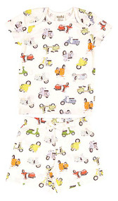 Pyjamas Short Sleeve Scooter