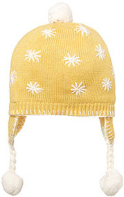 Organic Earmuff Flower Sunny