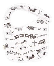 Baby Bib Locomotion