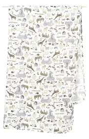 Wrap Muslin Jungle