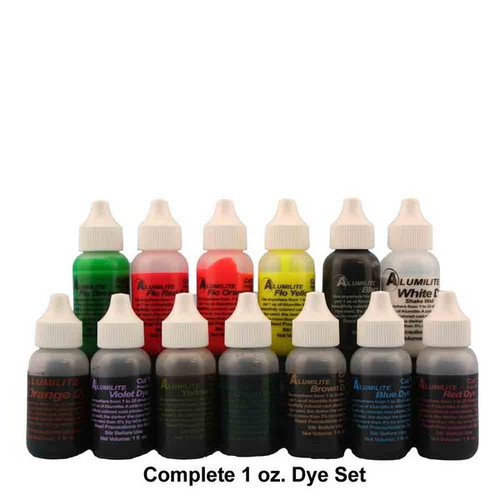 GENUINE ALUMILITE DYES 1 OZ