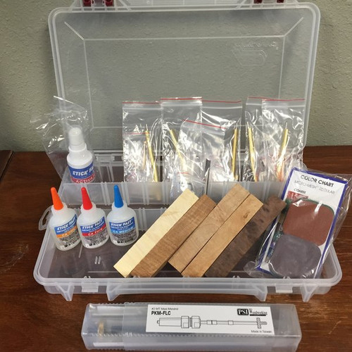 PKM Starter Pen Turning Kit with Storage Case