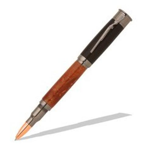 Over and Under Shotgun Gun Metal Roller Ball Pen Kit Item #: PKCP6020