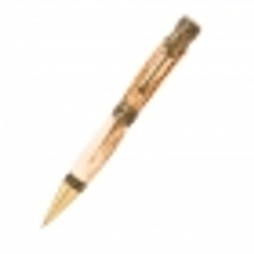 PKWESTAB Cowboy Antique Brass Twist Pen Kit