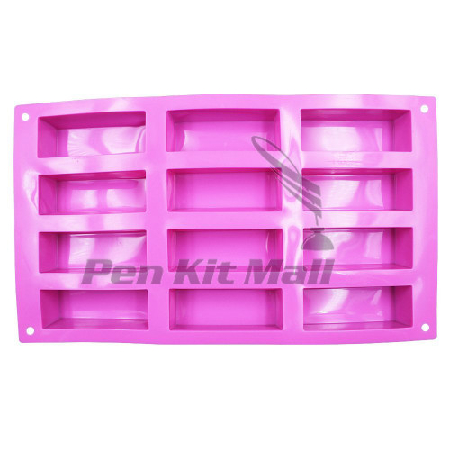 Silicone 12 Cavity MOLD  for BLANK CASTING  in Assorted Colors