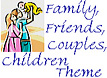 Baby, Couple, Family, Friends Theme Icon