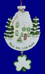 "Bless this Irish House Ornament, 5 3/8"", #KAW3855"