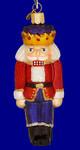"""Nutcracker Prince Glass Ornament, 5"""", OWC #44007"""
