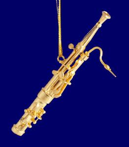 Clarinet Christmas Ornament