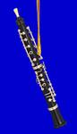 """Mini Oboe Ornament - 3 3/8"""" Small #HI578"""