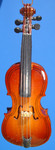 "Mini Cello Ornament - Wood, 4"" Small #HI582"