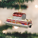 Pontoon Boat Old World Christmas Ornament 46059